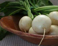 Hakurei turnips from Desert Roots Farm