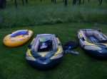 Rafting on the Deschutes