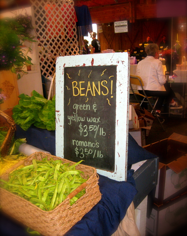 Food Sells - And that includes Beans