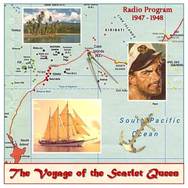 Voyage of the Scarlet Queen from Old Time Radio CD Artwork http://www.otrr.org