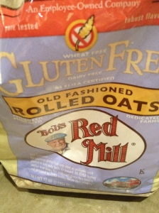 Oats make these gluten free